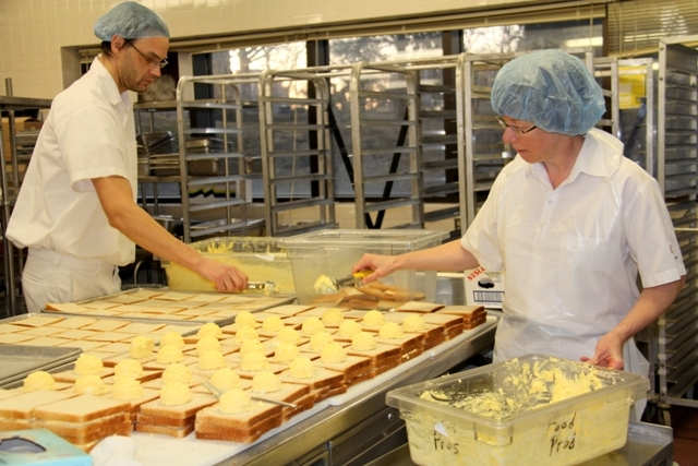 photo essay behind the scenes hospital food nova scotia  1 240 loaves of bread